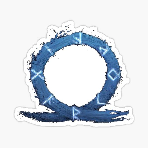 God Of War Ragnarok Logo Sticker