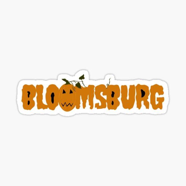 Bloomsburg Pumpkin Sticker