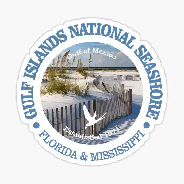 Gulf Islands National Seashore (NP) Sticker