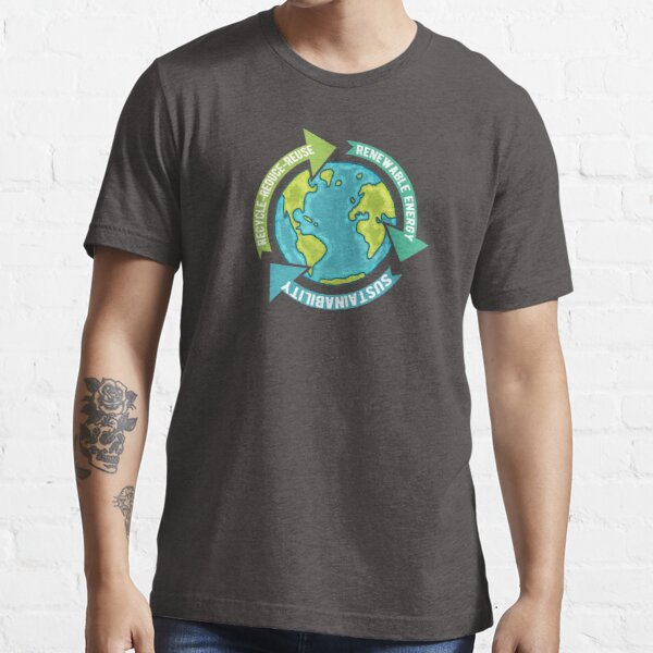 Earth Sustainability Essential T-Shirt