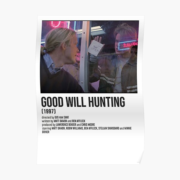 GOOD WILL HUNTIN apples POSTER Poster