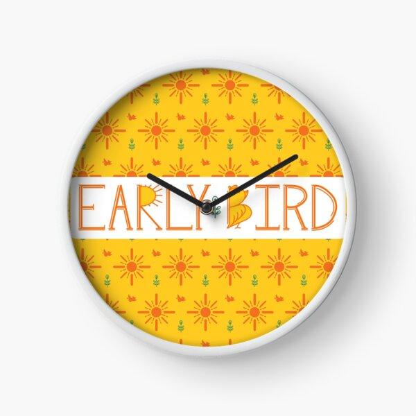 Early Bird Phrase with Main Pattern Clock