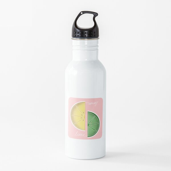 lemon lime Water Bottle