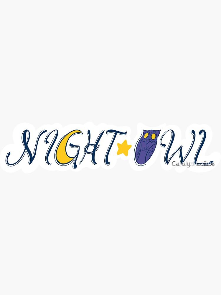 Night Owl by Carolyn-Loftus