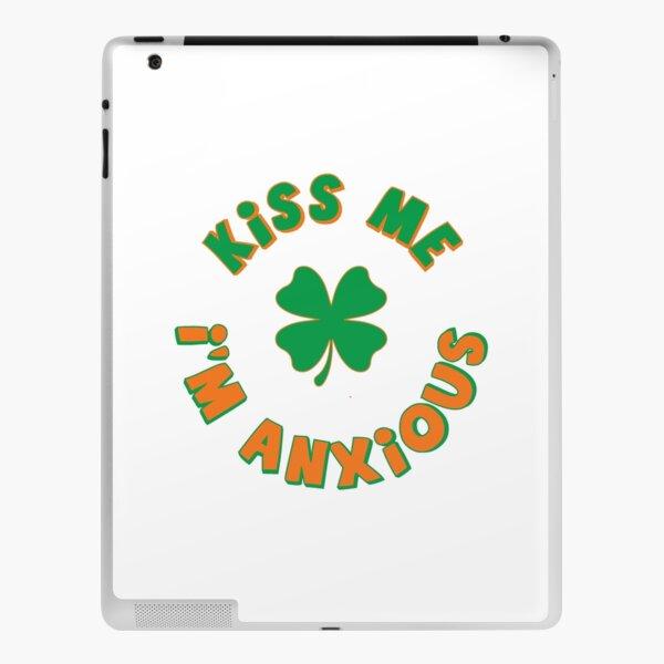 Kiss Me, I'm Anxious iPad Skin