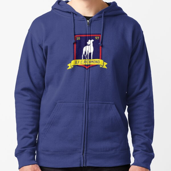 vintage AFC Richmond-Play for coach Lasso-don't be a wanker-funny-tv-comedy-Ted- Zipped Hoodie