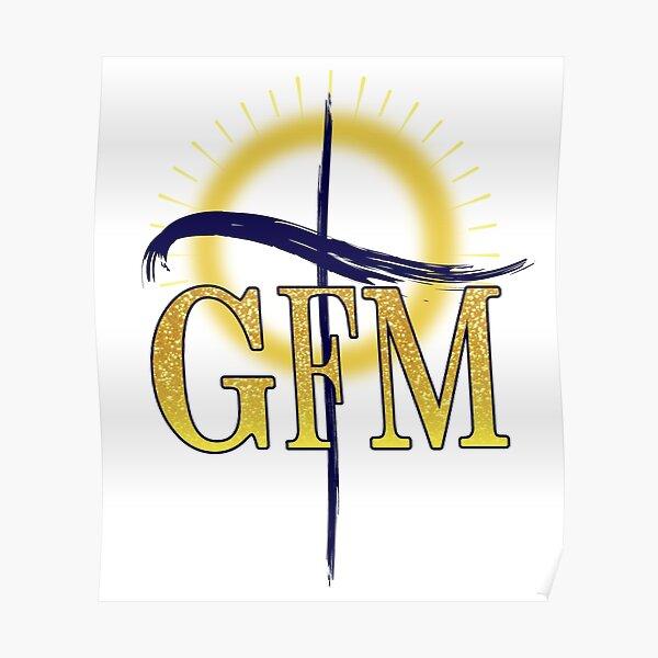 GFM Cross Logo Poster