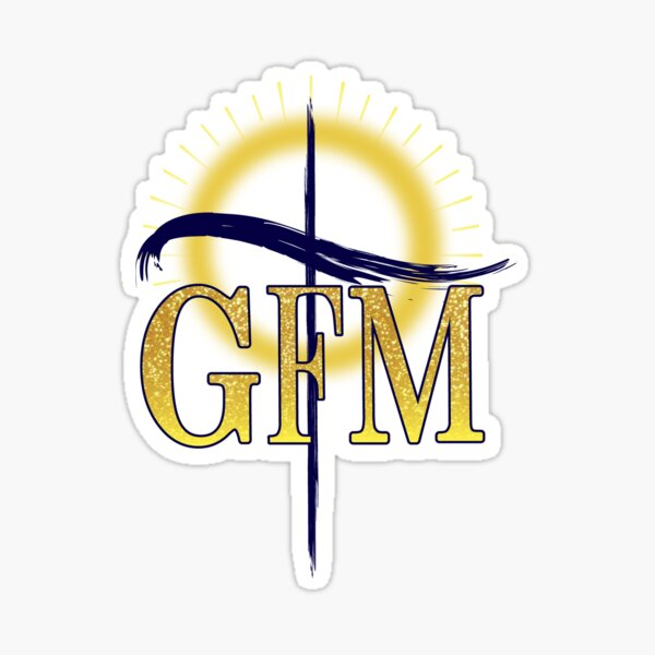 GFM Cross Logo Sticker
