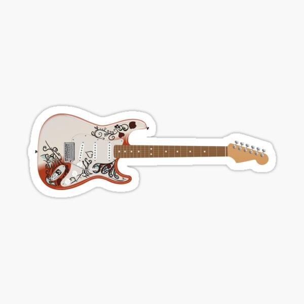Jimi Hendrix Signature Guitar - Monterey Sticker