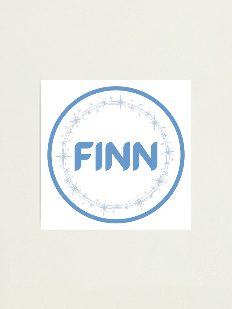Alternate view of Finn Photographic Print