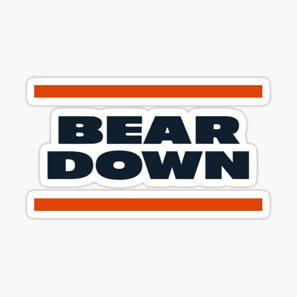 Bear Down (Chicago) Sticker