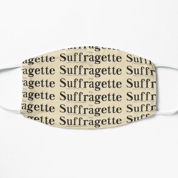 The Suffragette Newspaper Mask