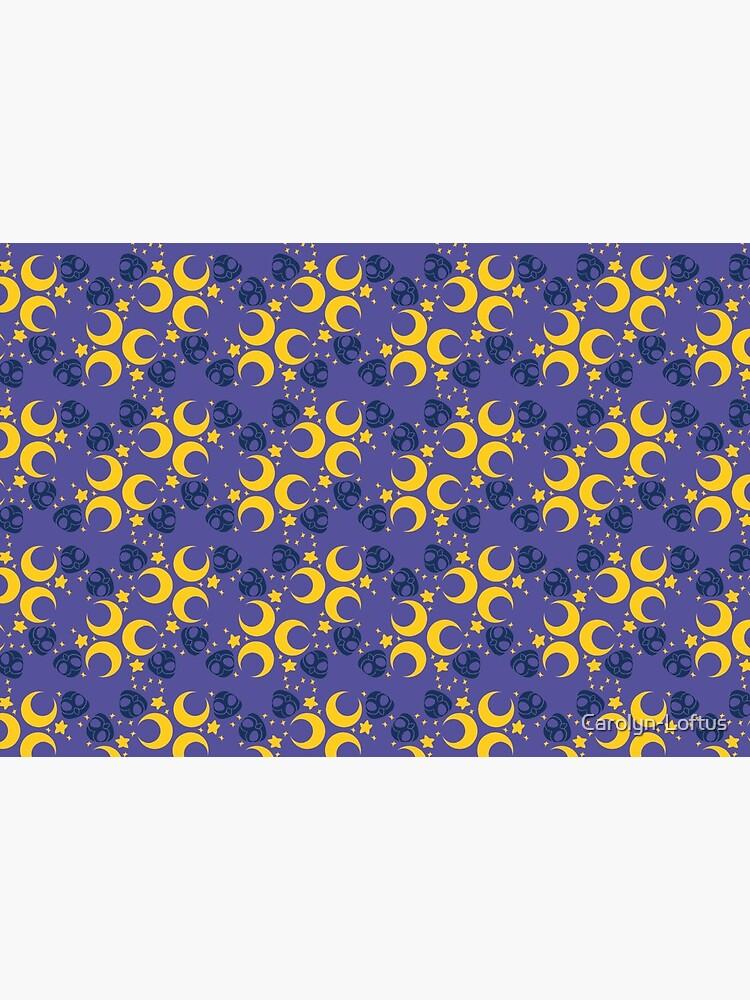 Night Owls, Main Pattern (Purple) by Carolyn-Loftus