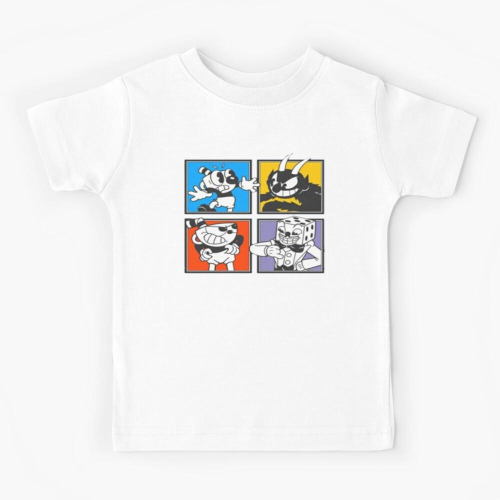 Cuphead Mugman Kids T-Shirt