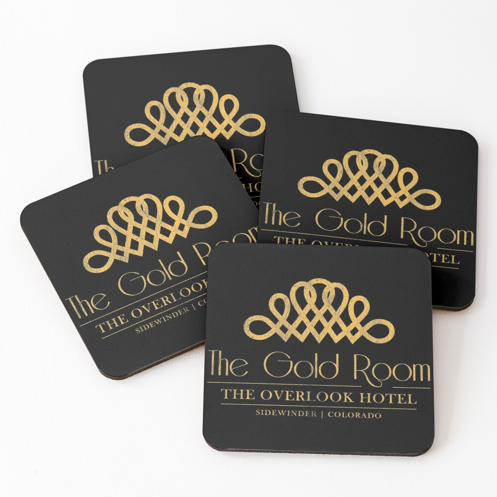 The Gold Room ✅ Coasters (Set of 4)