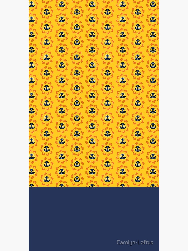 I am a Night Owl Doomed to the Life of an Early Bird, Sub Pattern (Yellow) by Carolyn-Loftus