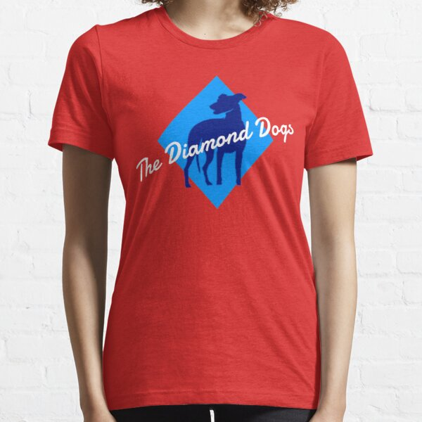 The Diamond Dogs-Coach Lasso's relationship squad- wanker-funny-tv-comedy-Ted- Essential T-Shirt