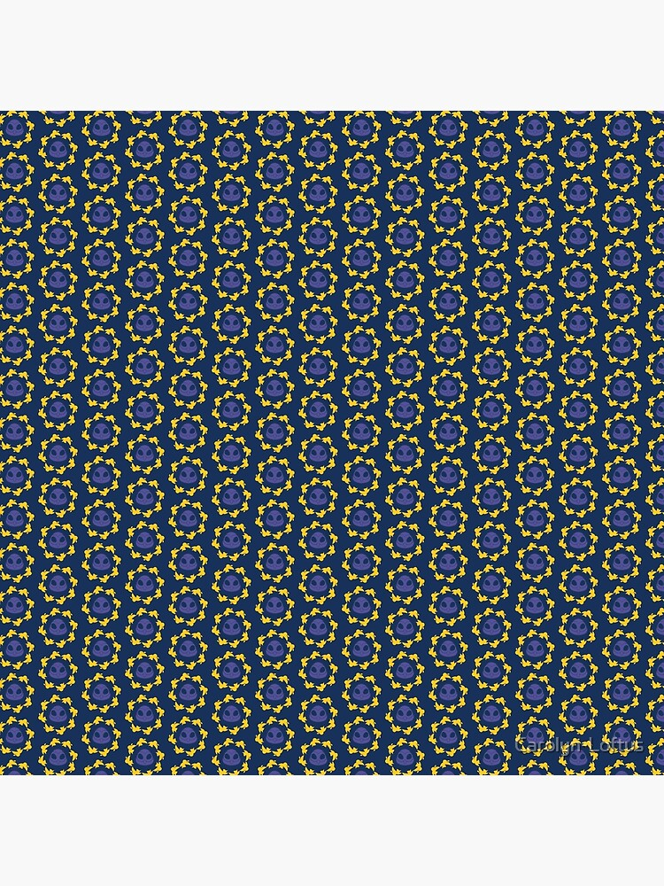I am a Night Owl Doomed to the Life of an Early Bird, Sub Pattern (Blue) by Carolyn-Loftus