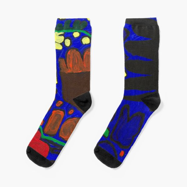 Carlos Untitled (Blue) Socks