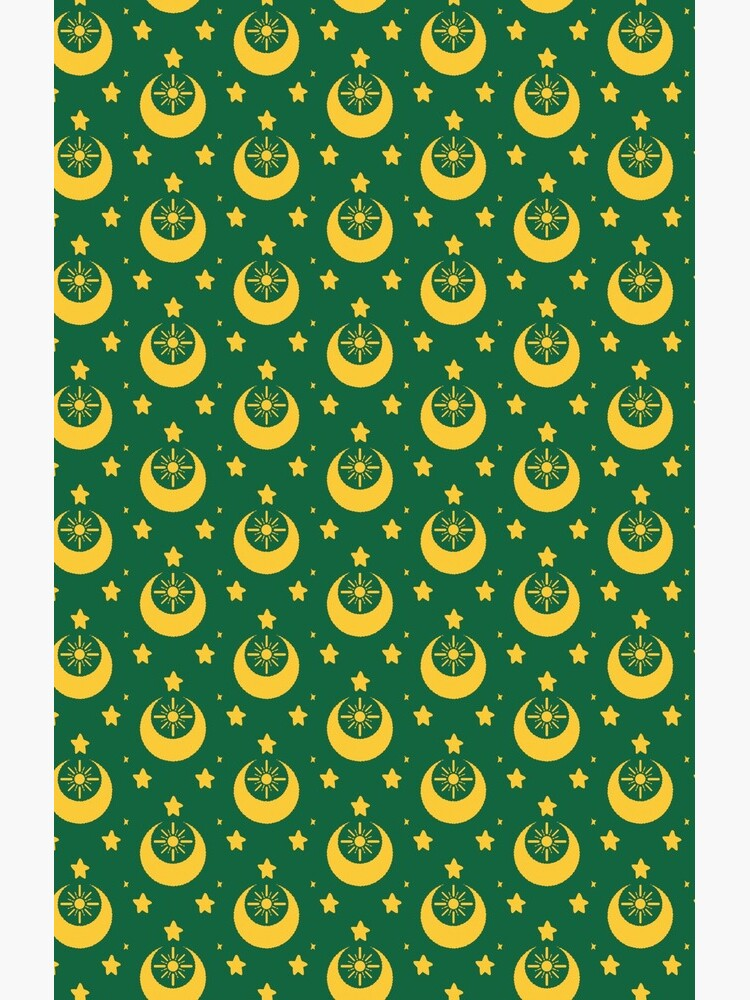 I am an Early Bird Doomed to the Life of a Night Owl, Sub Pattern (Green) by Carolyn-Loftus