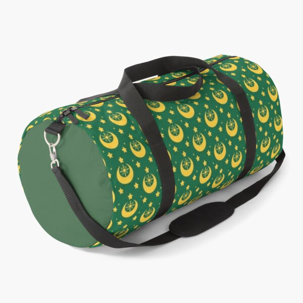 I am an Early Bird Doomed to the Life of a Night Owl, Sub Pattern (Green) Duffle Bag