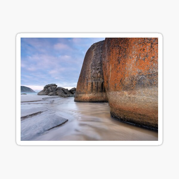 Squeaky Beach Boulders Sticker