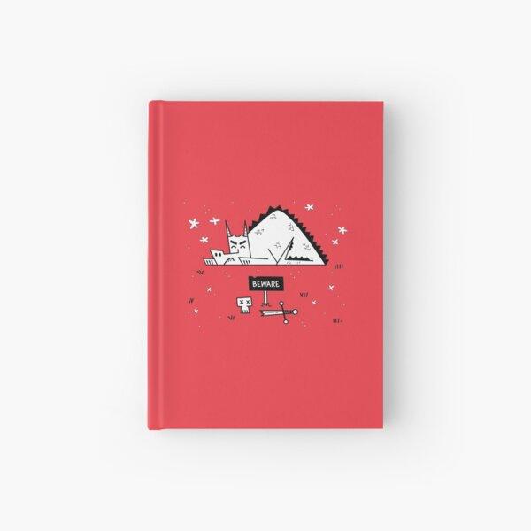 Beware of Sleeping Dragons Hardcover Journal
