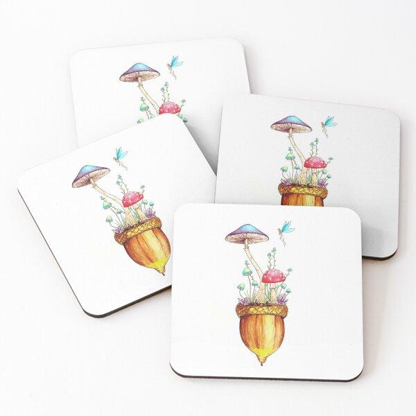 Acorn Universe Coasters (Set of 4)