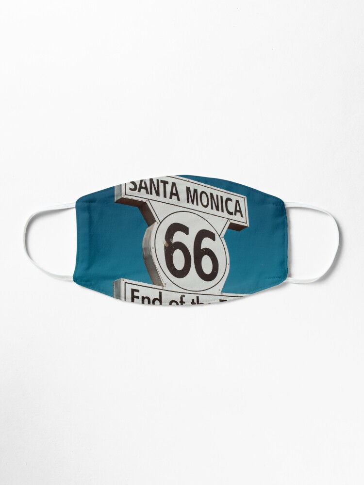 Alternate view of Route 66 Mask