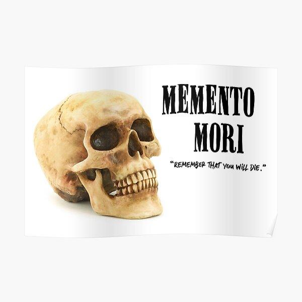 Memento Mori - Skull Poster