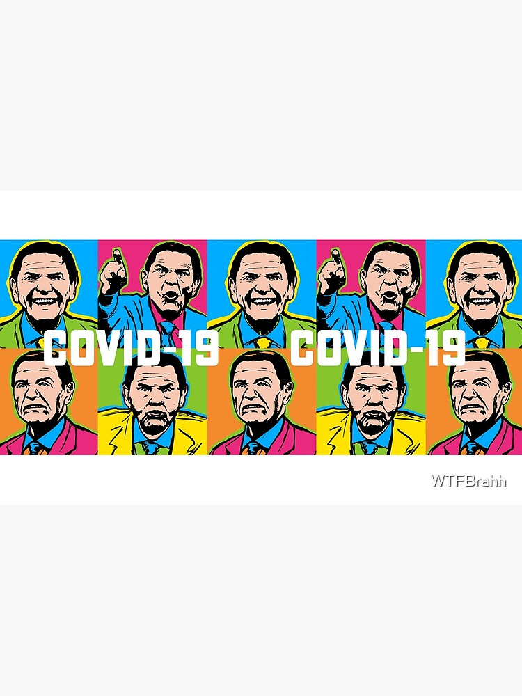 Pop Covid 19 Mug Wtfbrahh by WTFBrahh