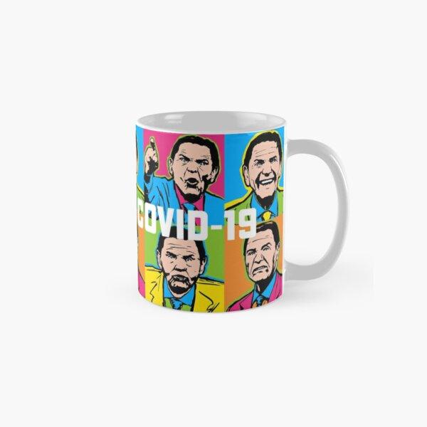 Pop Covid 19 Mug Wtfbrahh Classic Mug