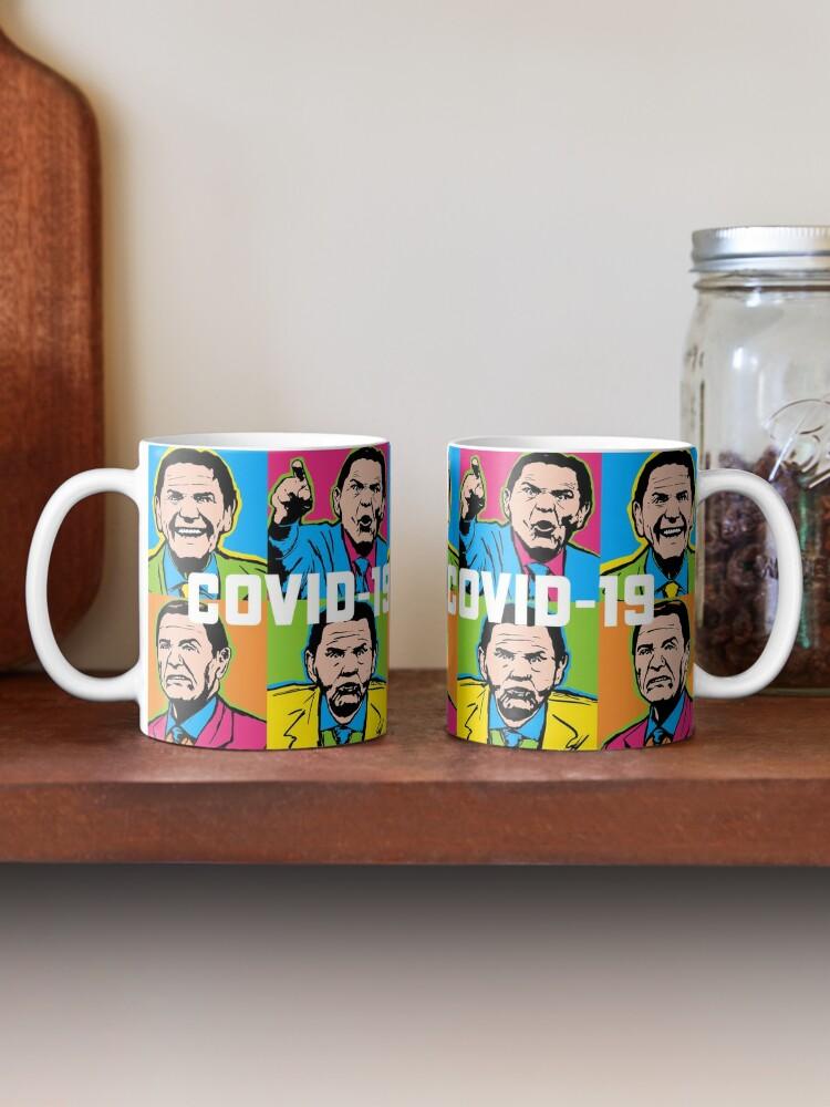 Alternate view of Pop Covid 19 Mug Wtfbrahh Mug