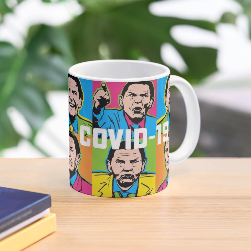 Pop Covid 19 Mug Wtfbrahh Mug
