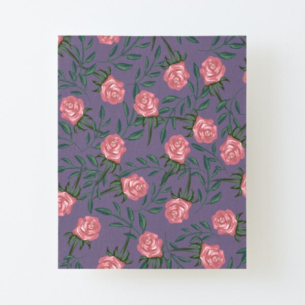 Roses fall Canvas Mounted Print
