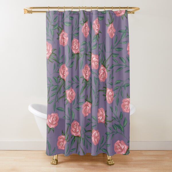 Roses fall Shower Curtain