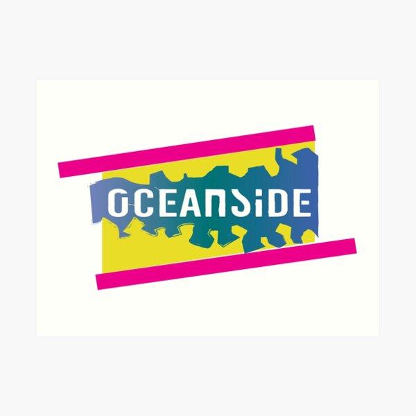 Oceanside 80s  Art Print