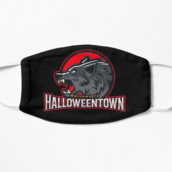 Halloweentown Welcomes You! Flat Mask