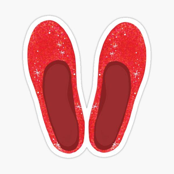 Ruby Slippers Sticker