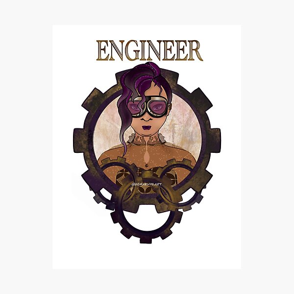 Engineer (STEAMpunk) Photographic Print