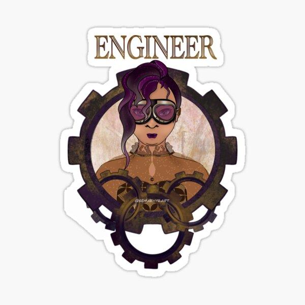 Engineer (STEAMpunk) Sticker