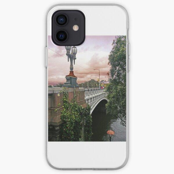 Princes Bridge, Melbourne iPhone Soft Case