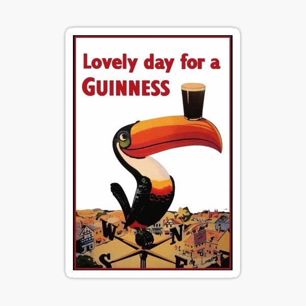 Belle journée pour une lettre Guinness Sticker