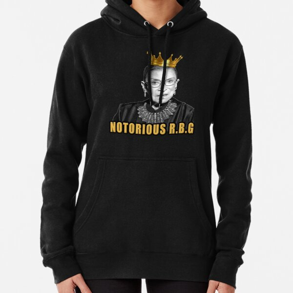 The Notorious Ruth Bader Ginsburg (RBG) Pullover Hoodie