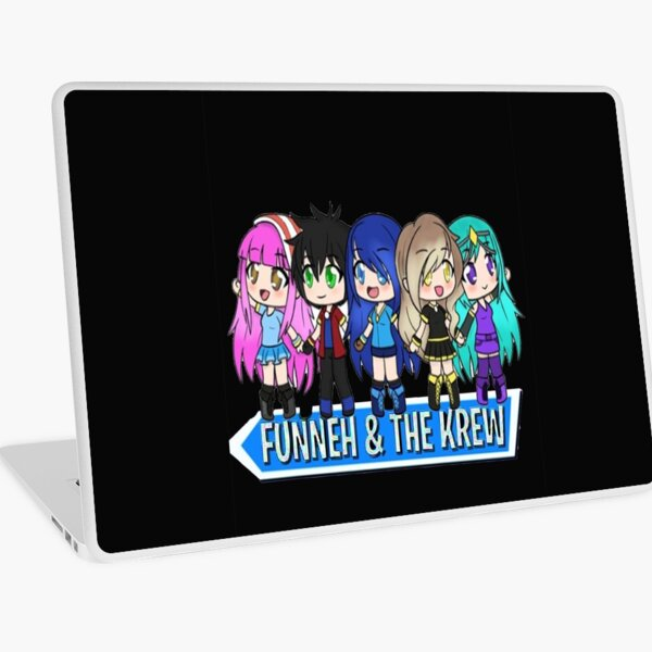 The Krew Potato Obby For Funneh The Best Youtuber Roblox Funneh Roblox Laptop Skins Redbubble