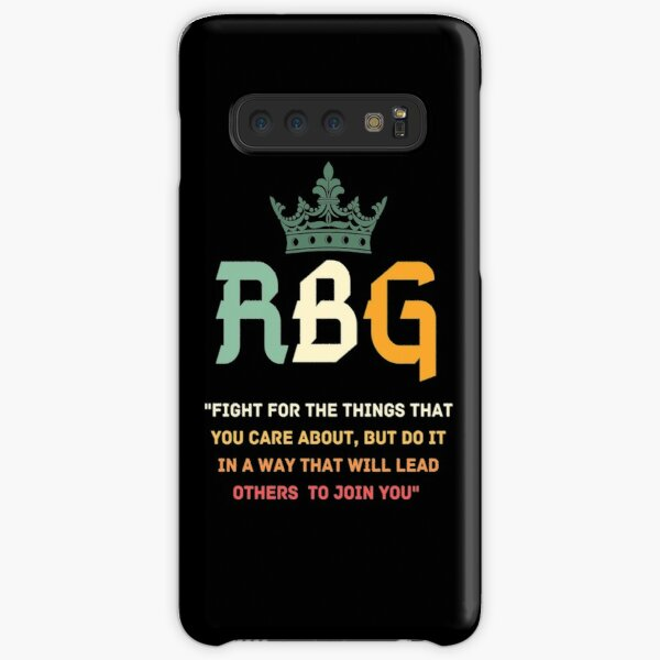 Fight For The Things You Care About RBG T-Shirt Samsung Galaxy Snap Case