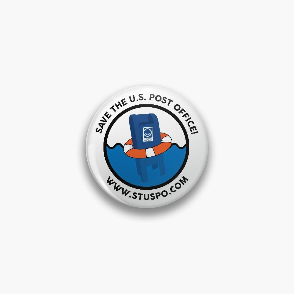Save the US Post Office - STUSPO in Black Pin