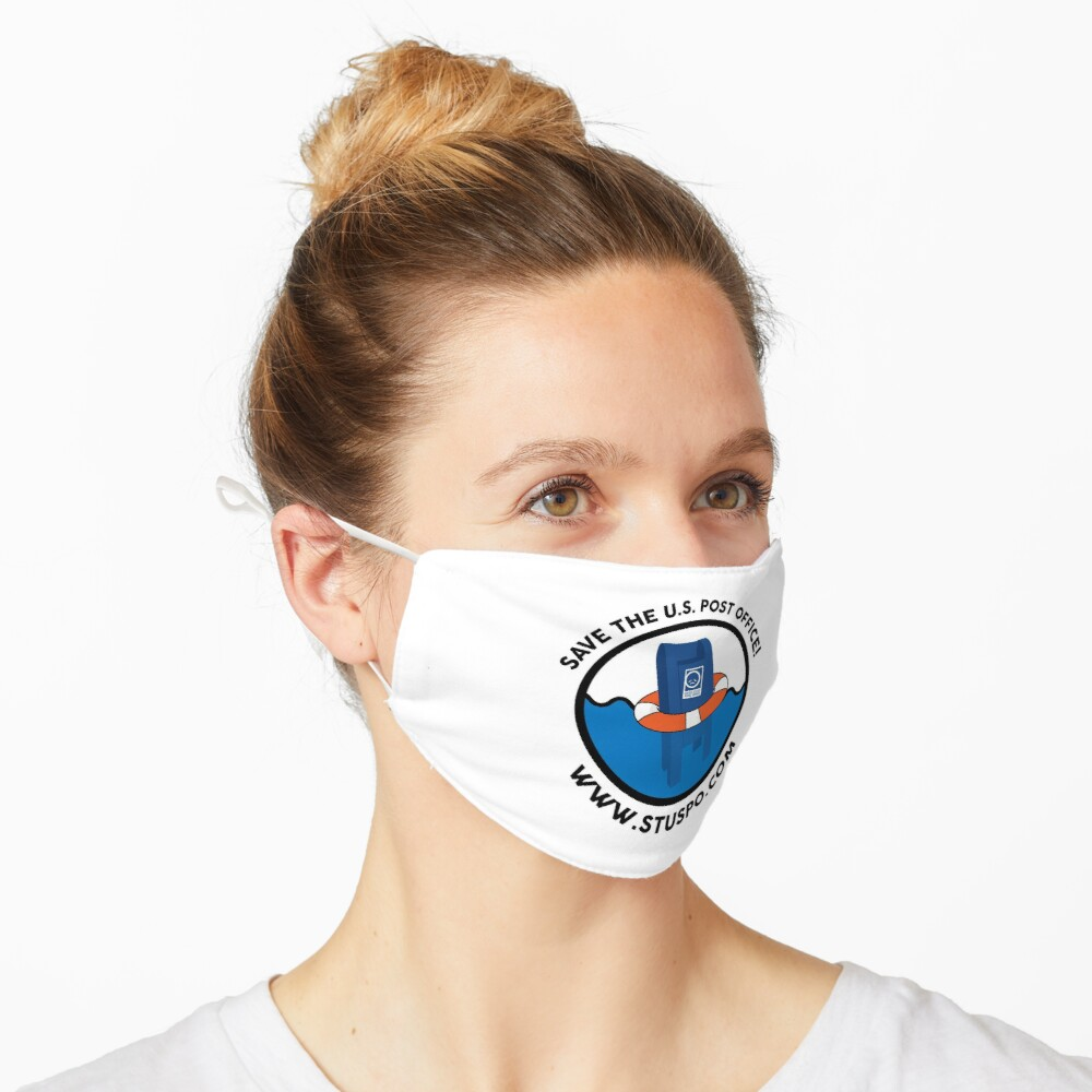 Save the US Post Office - STUSPO in Black Mask