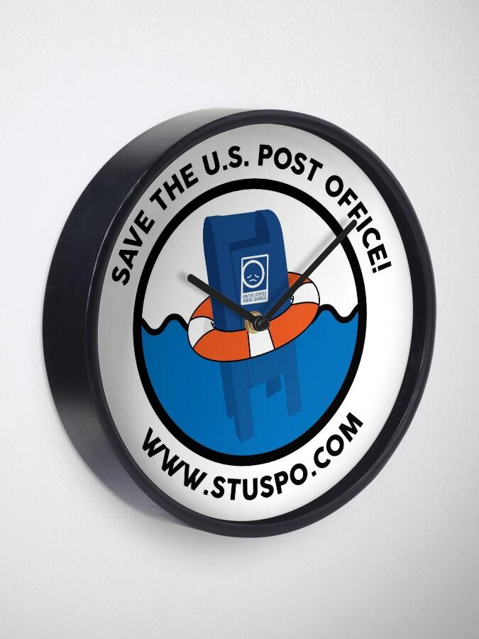 Alternate view of Save the US Post Office - STUSPO in Black Clock