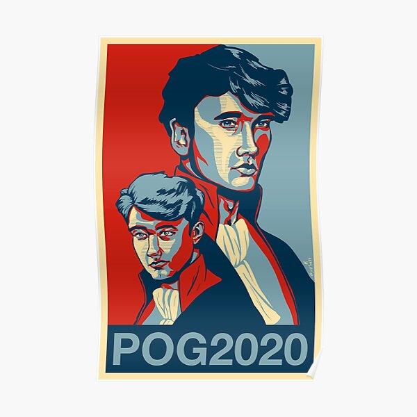 Cartel / pegatina / botón / camiseta de la campaña POG 2020 Póster
